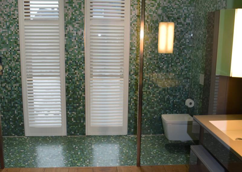 Aqualine Shutters für Duschbereiche